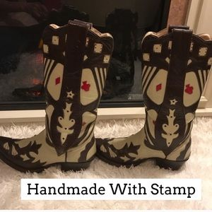 Shoes - HANDMADE ONE OF A KIND IN MEXICO BOOT STAMP PHOTO